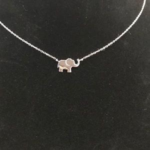 Jewelry - ✳️ Sterling Silver Elephant Necklace